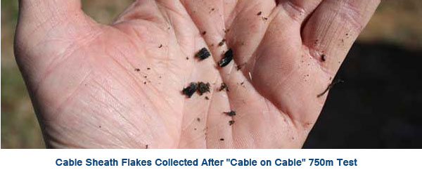 Cable Sheath Flakes